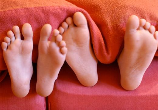 Детские стопы