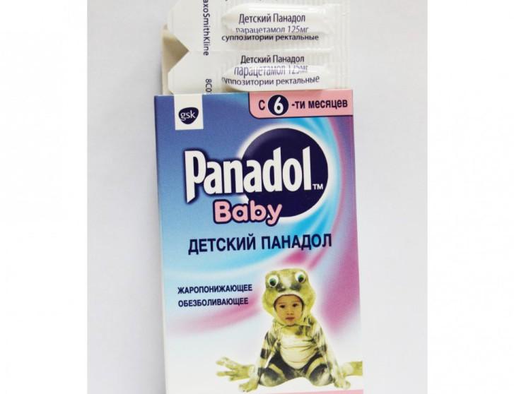 Свечи Панадол: инструкция по применению средства для детей старше 3 месяцев