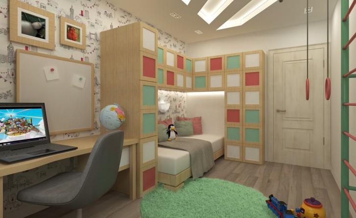 Дизайн интерьера маленькой детской комнаты: выбор мебели и планировка спальни для мальчика или девочки