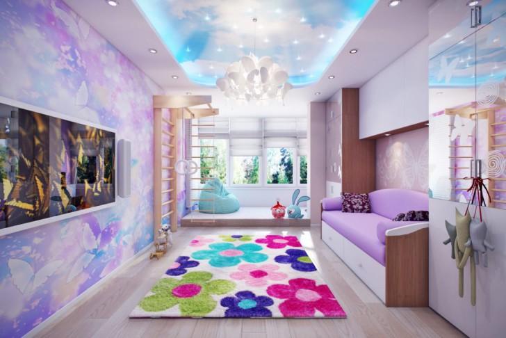 Какой цвет выбрать для стен в детской: сочетание оттенков в интерьере комнаты для девочки или мальчика, фото примеров