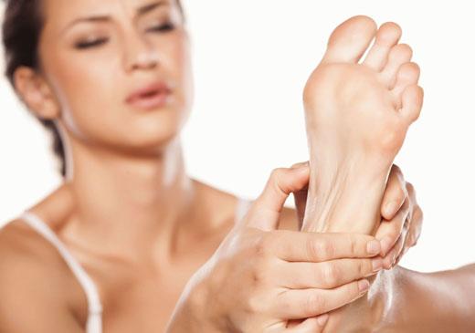 проблемная кожа на ступнях ног