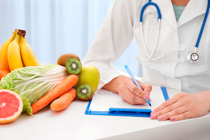 врач назначает лечебное питание