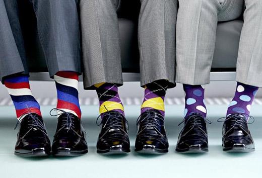 различные виды носков