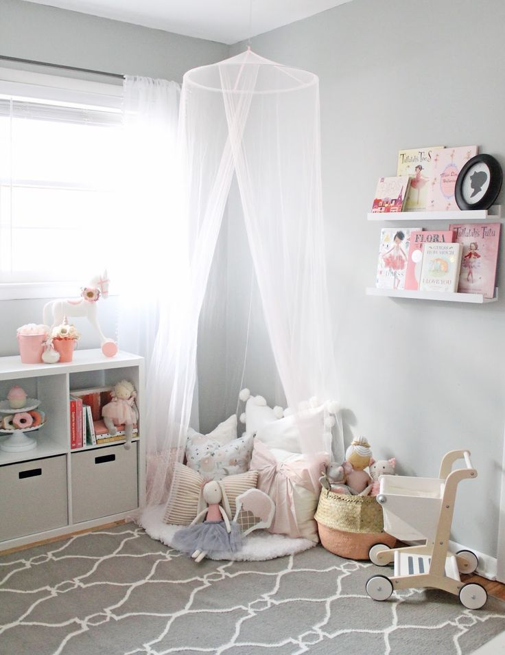 Дизайн интерьера детской комнаты для девочек разного возраста с фото: варианты планировки и оформления
