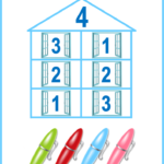 Как быстро и легко научить ребенка составу числа до 10 и 20: домики и другие игровые методики