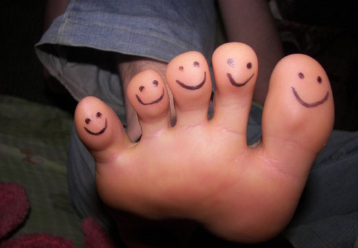 Пальцы ног