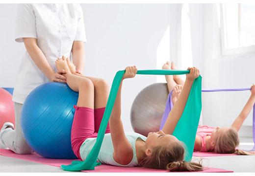 лечебные упражнения для детей