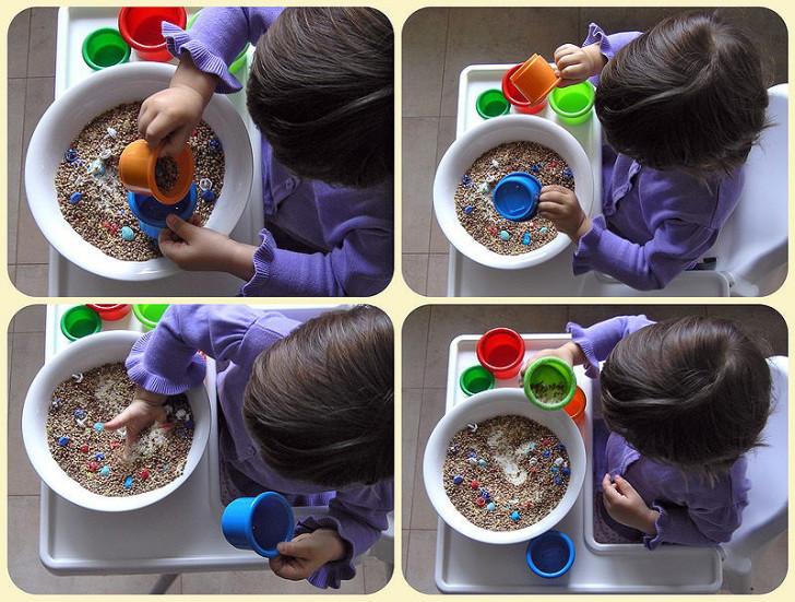 Обзор игр с крупами и макаронами для детей разного возраста: мастер-класс по развитию мелкой моторики