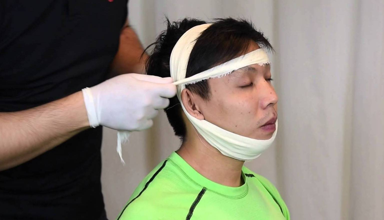 первая помощь при переломе челюсти