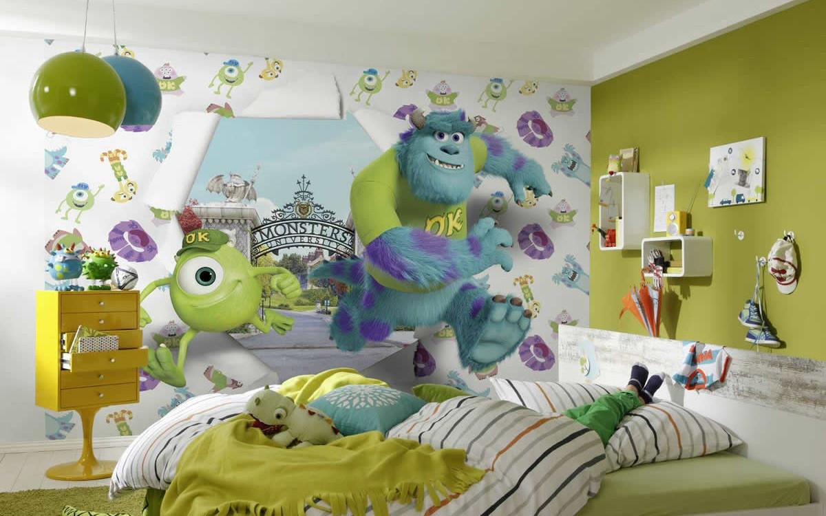 Как выбрать обои и фотообои в детскую комнату мальчика: варианты и дизайн интерьера