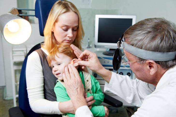 Лечение экссудативного отита у ребенка: двустороннего и одностороннего заболевания среднего уха