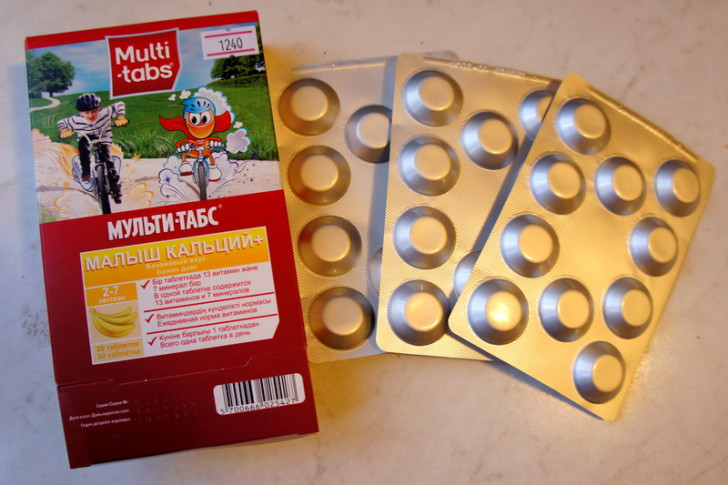 Обзор витаминов для детей Мульти-Табс: серии Бэби и Малыш с инструкциями по применению
