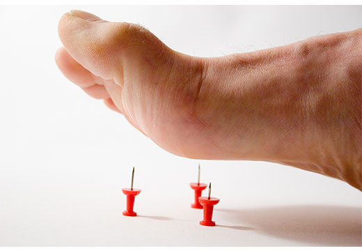 Сильная боль в ноге