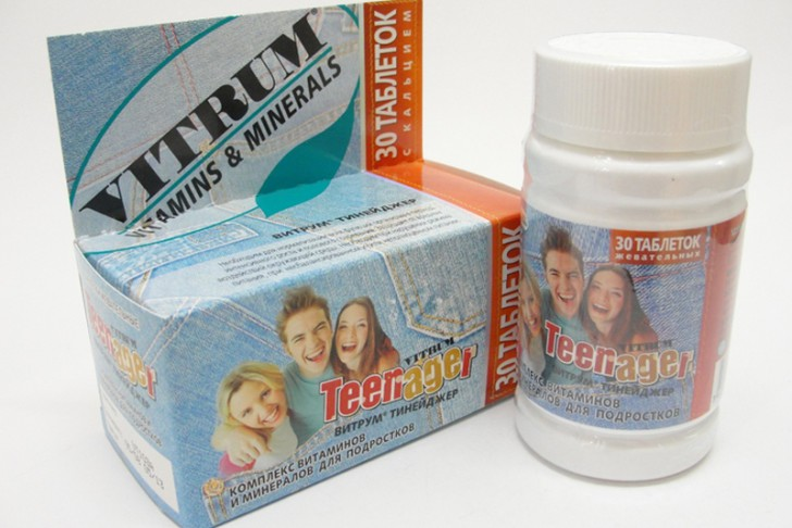 Витрум: обзор витаминно-минеральных комплексов для детей разного возраста