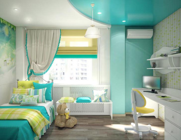 Как выбрать обои для детской комнаты девочки 7-12 лет: фото-обзор и рекомендации