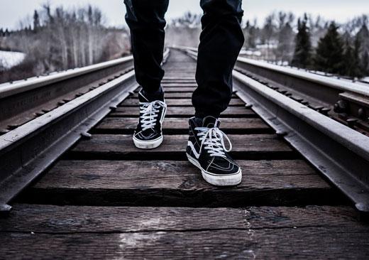 Ноги в кросовках