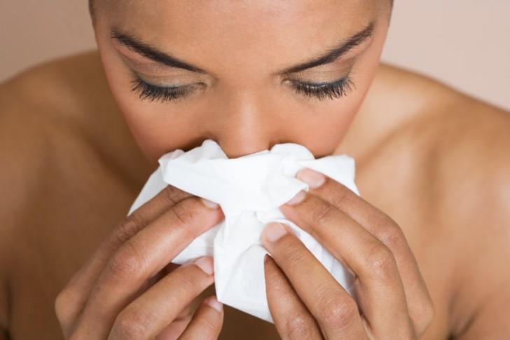 Кровь из носа у беременных в первом, втором и третьем триместрах: почему она идет во время беременности, что делать?