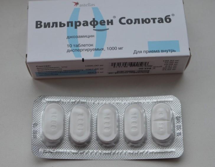 Дозировка на вильпрафен для простатита инфекционные заболевания вызывающие простатит