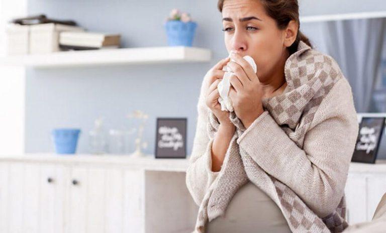 Можно ли применять Гербион при сухом или влажном кашле во время беременности?