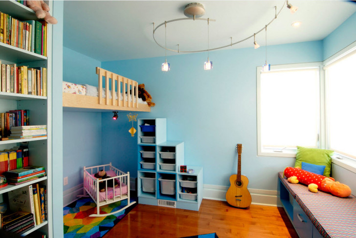 Как обустроить детскую: варианты планировки комнаты и дизайн интерьера в современных стилях
