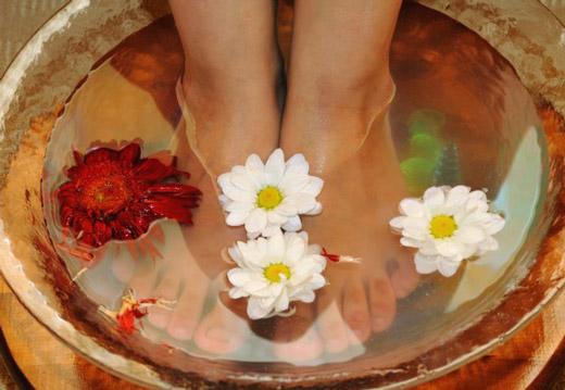 Домашняя ванночка для ног