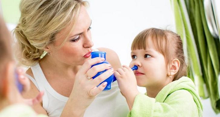 Перед использованием Виброцила необходимо промыть нос соленым раствором