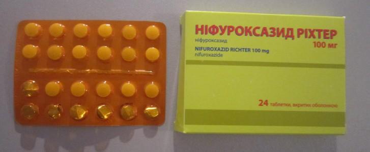 Инструкция по применению суспензии и таблеток для детей Нифуроксазид, аналоги препарата