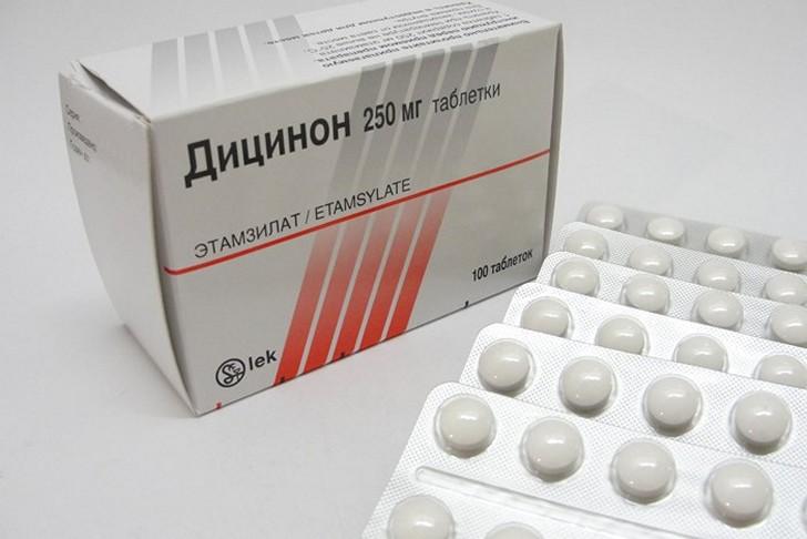 Обильные месячные и другие показания к приему Дицинона, рекомендации по применению кровоостанавливающих таблеток