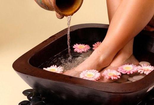 ванночки для мягких ступней